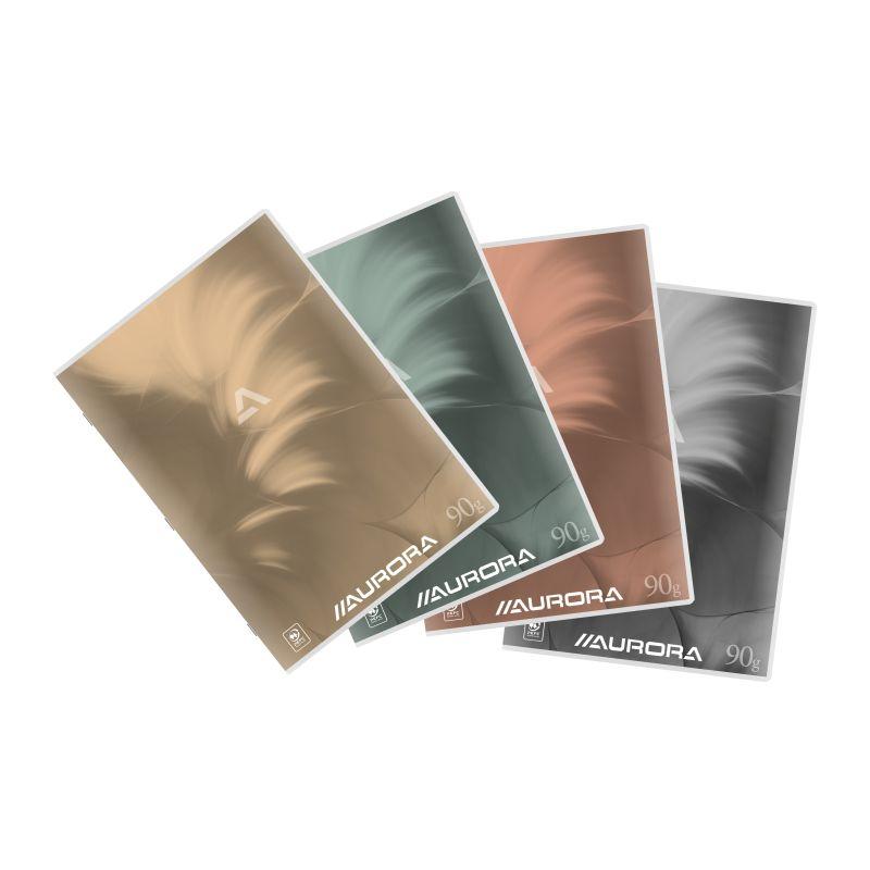 Cahier Mano A4 60 feuillets,quadrillé10 x 10