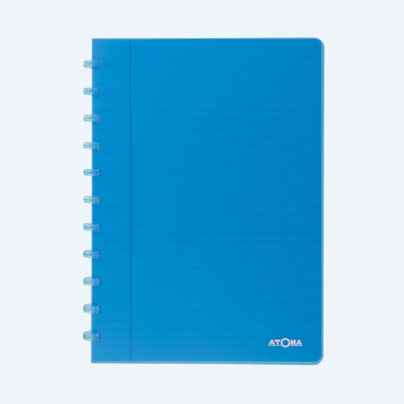 Cahier Atoma couverture plastique A4 quadrillé 4 x 8 mm 72 feuillets