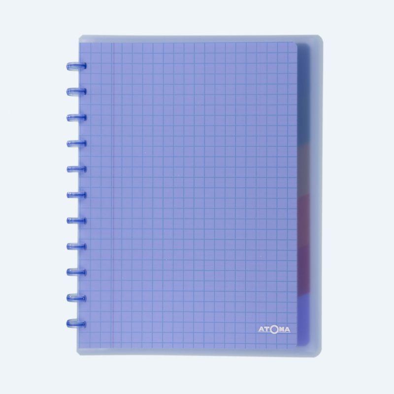 Cahier Atoma Combi couverture plastique A4 5 x 5 mm 72 feuillets