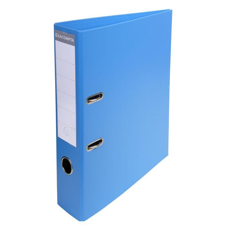 Classeur à levier PVC A4 dos de 70mm. - Bleu