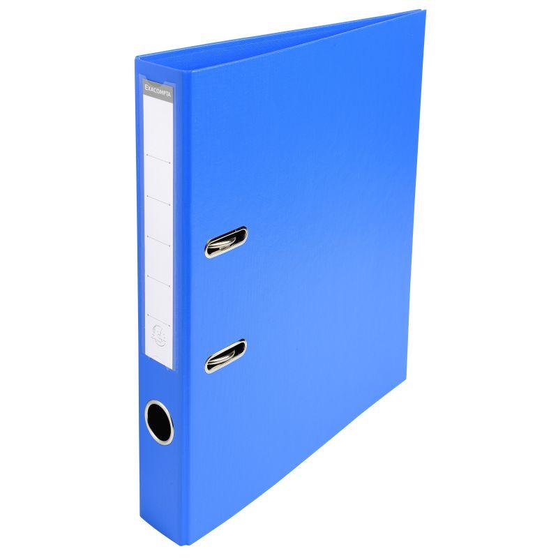 Classeur à levier PVC A4 dos de 50mm. - Bleu