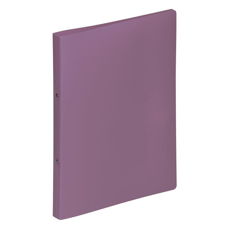 Classeur souple PVC 2 anneaux de 1,6 cm dos 2 cm - Violet