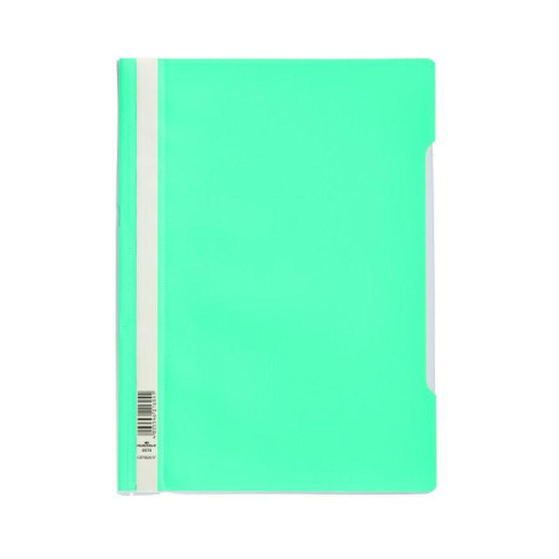 Farde devis A4 en polypropylène - Turquoise