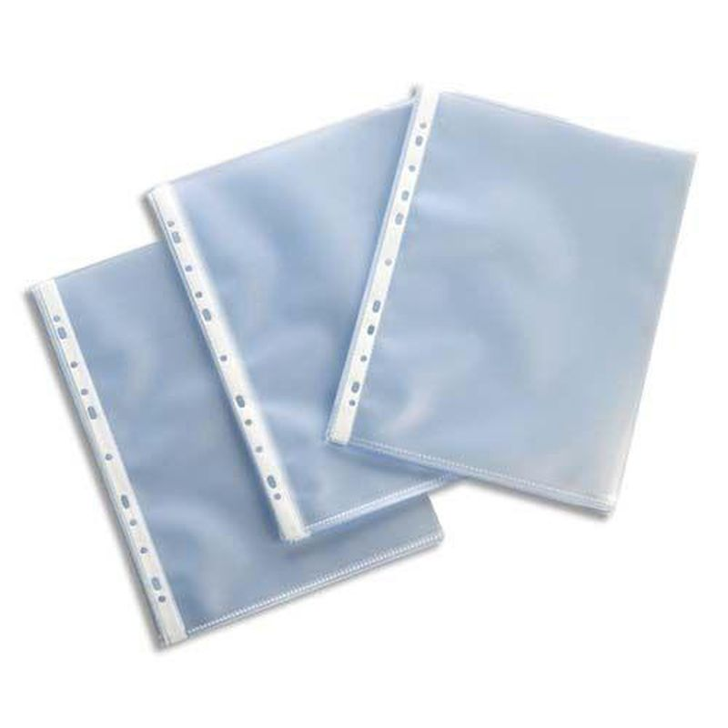 Protège-documents perforés A4 paquet de 100