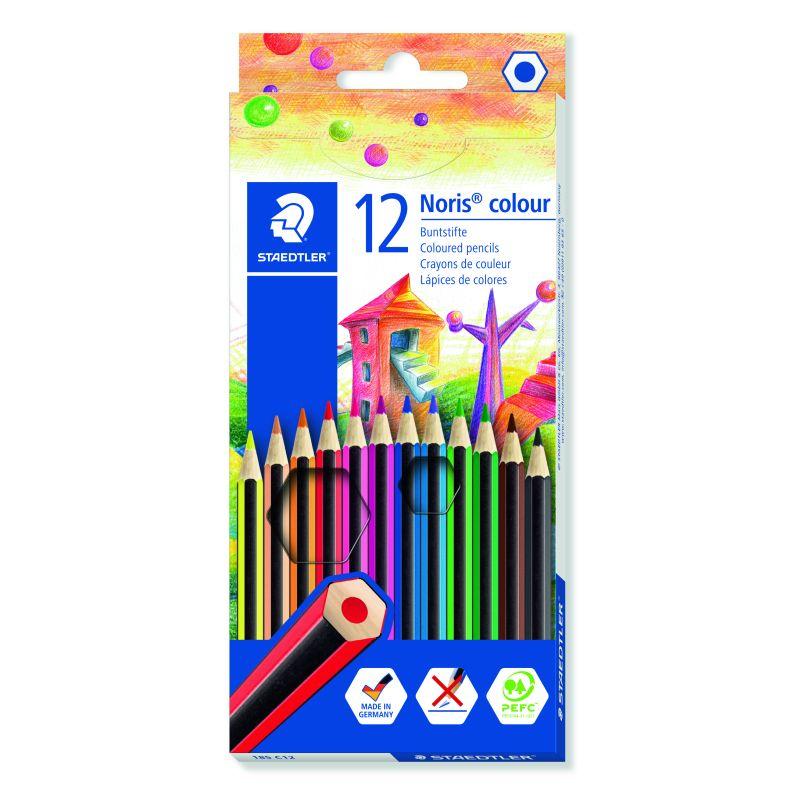 Etui de 12 crayons de couleur Staedtler mine 2mm