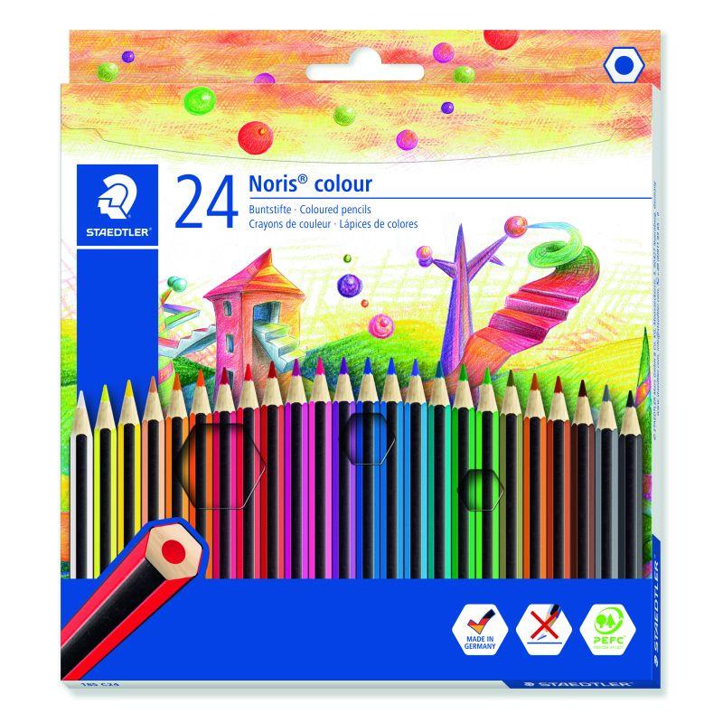 Etui de 24 crayons de couleur Staedtler mine 2mm