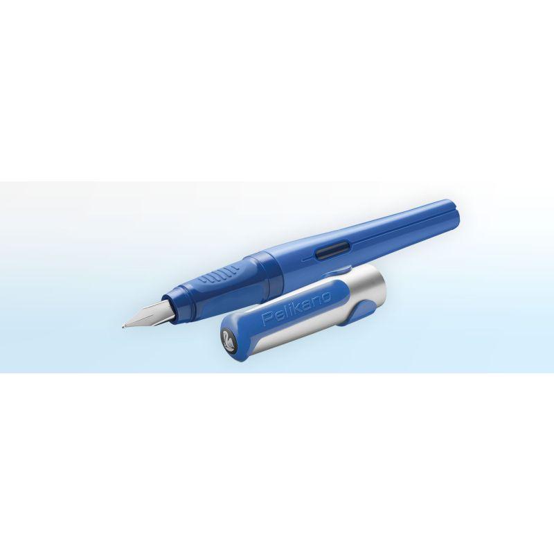 Stylo Pélikan gaucher - Bleu