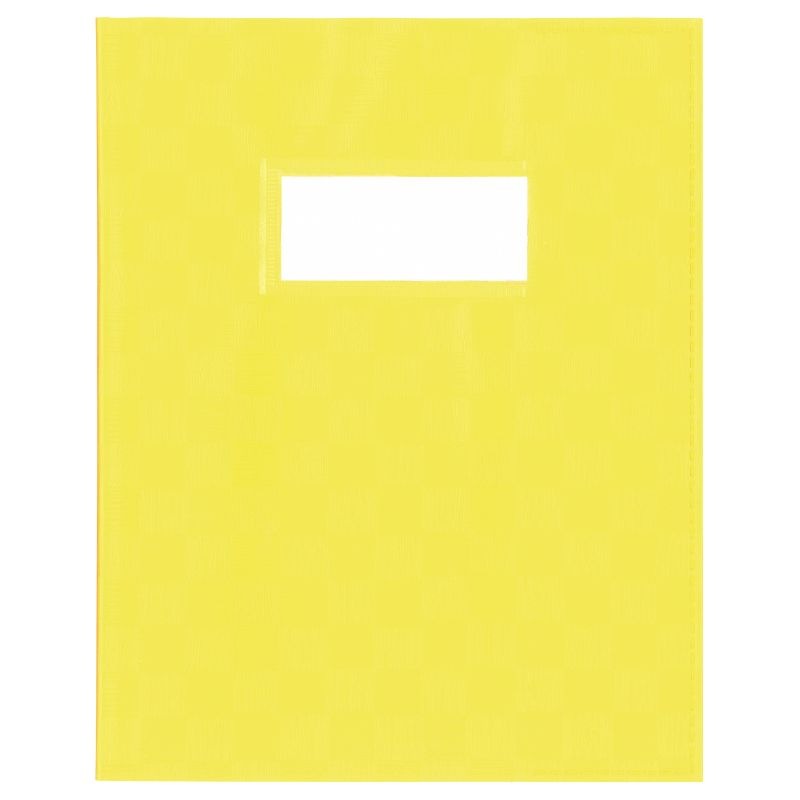 Couvre-cahier A5 - Jaune