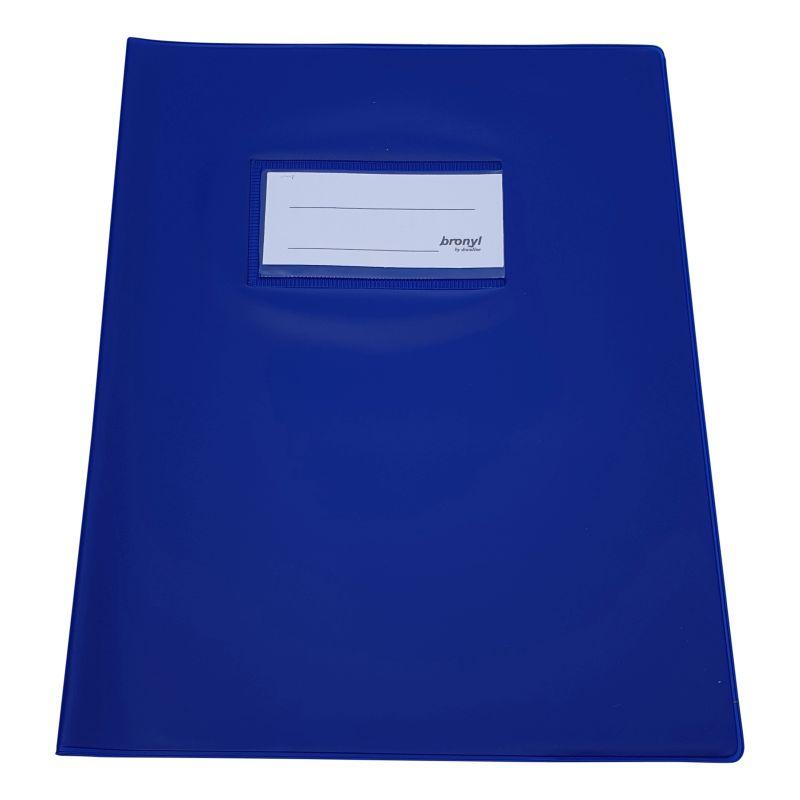 Couvre-cahier A5 de qualité supérieure Bleu