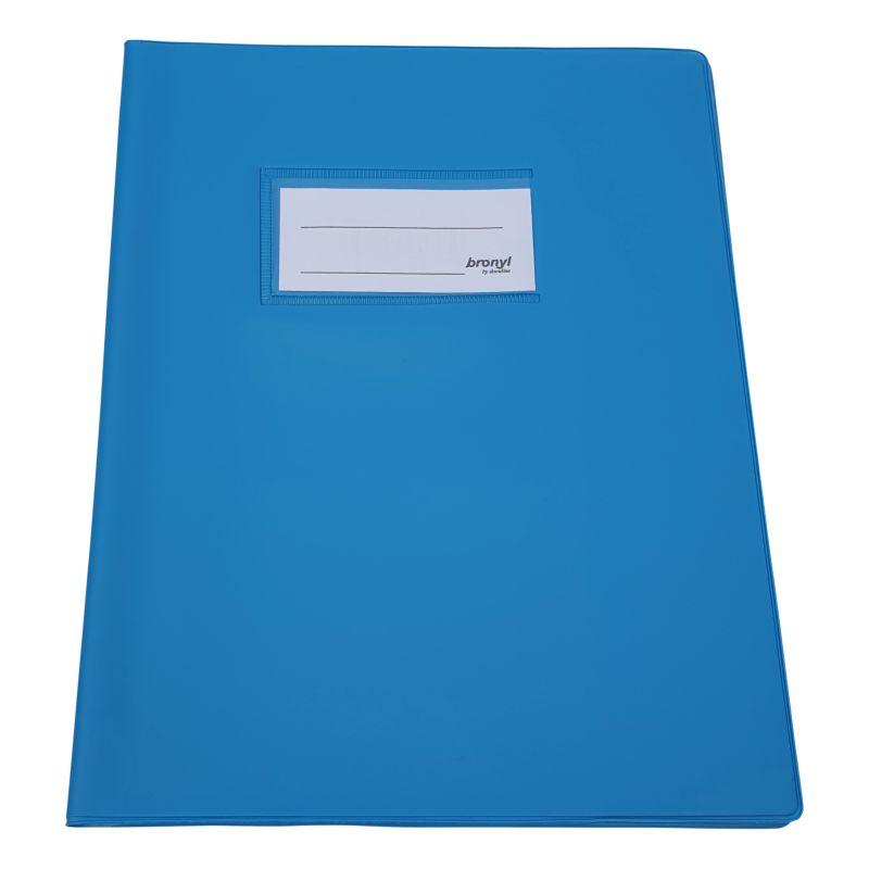 Couvre-cahier A5 de qualité supérieure - Bleu clair