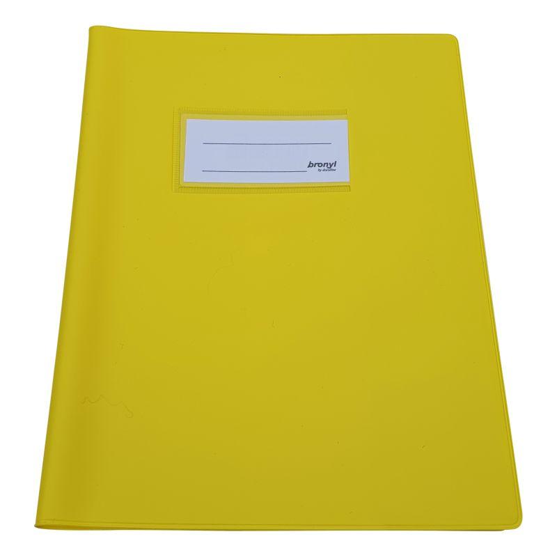 Couvre-cahier A5 de qualité supérieure - Jaune