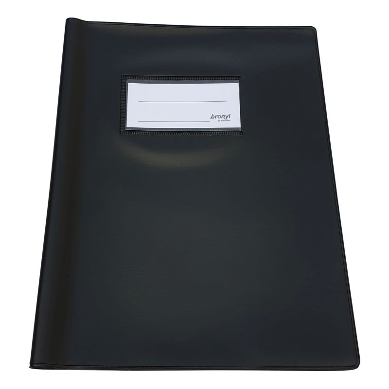 Couvre-cahier A5 de qualité supérieure [Noir]