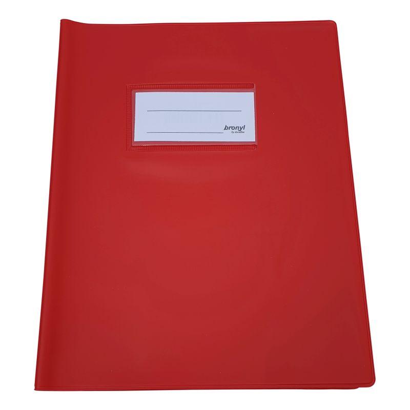 Couvre-cahier A5 de qualité supérieure - Rouge