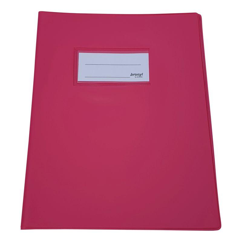 Couvre-cahier A5 de qualité supérieure rose