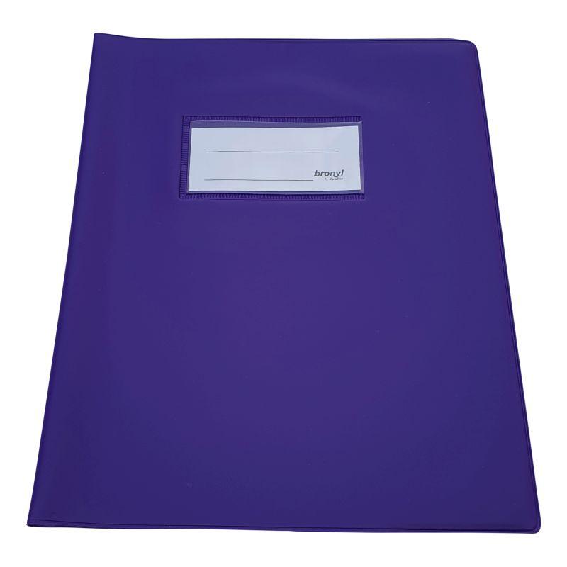 Couvre-cahier A5 de qualtié supérieure - Violet