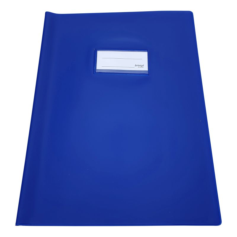 Couvre-cahier A4 de qualité supérieure -Bleu