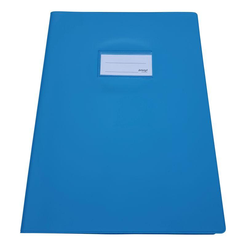Couvre-cahier A4 de qualité supérieure [Bleu clair]