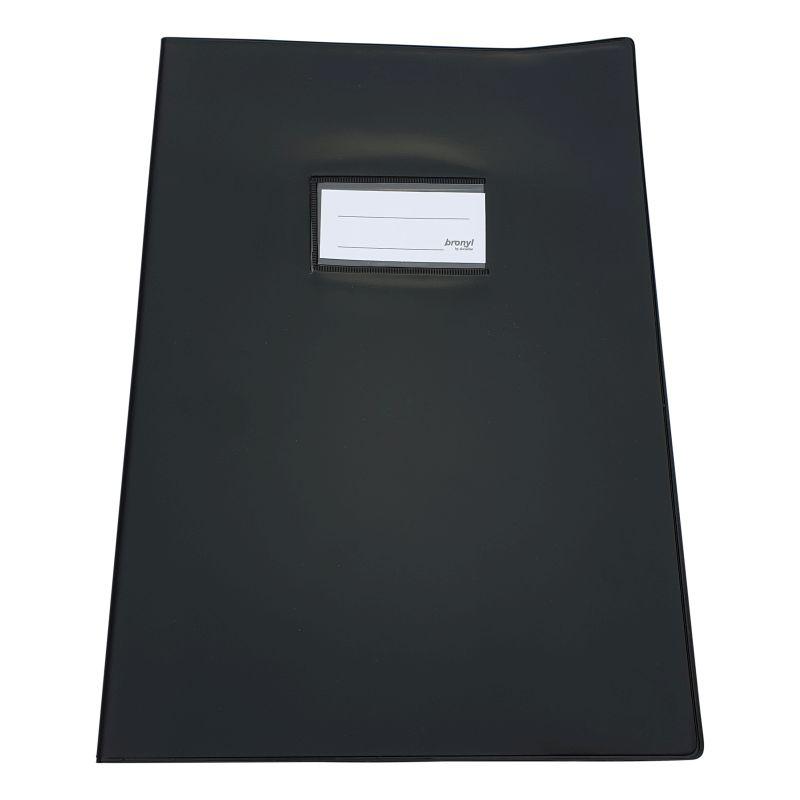 Couvre-cahier A4 de qualité supérieure [Noir]