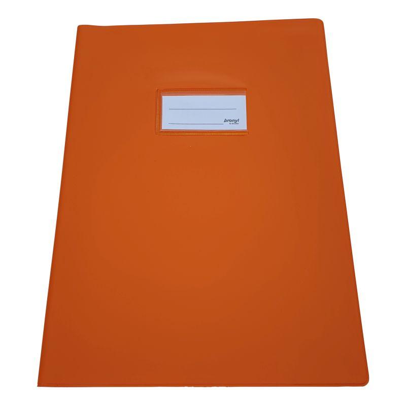 Couvre-cahier A4 de qualité supérieure [Orange]