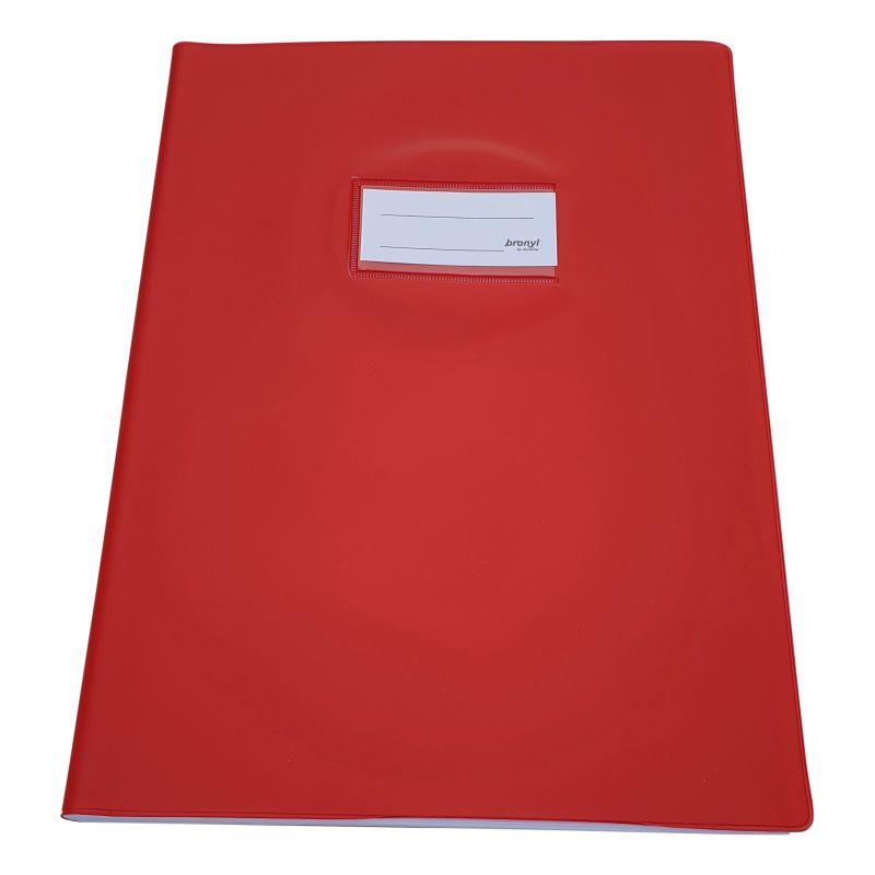 Couvre-cahier A4 de qualité supérieure - Rouge