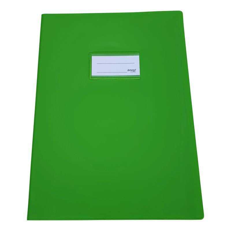 Couvre-cahier A4 de qualité supérieure [Vert clair]