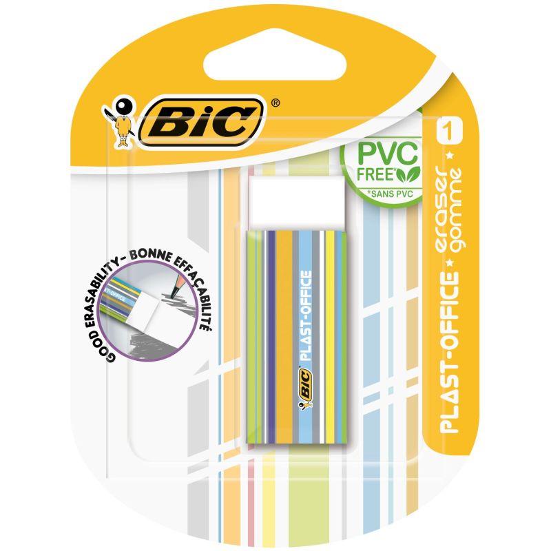 Gomme blanche plastique 60 X 21 X 11 mm