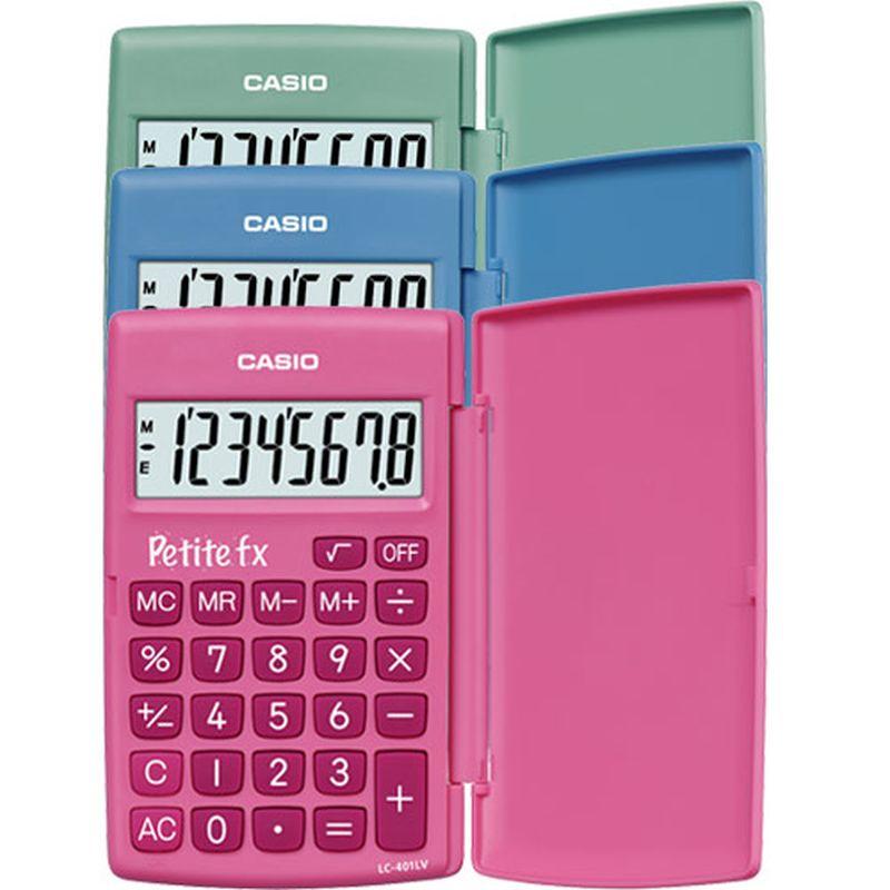 Machine à calculer Casio petite FX 3/4 primaire