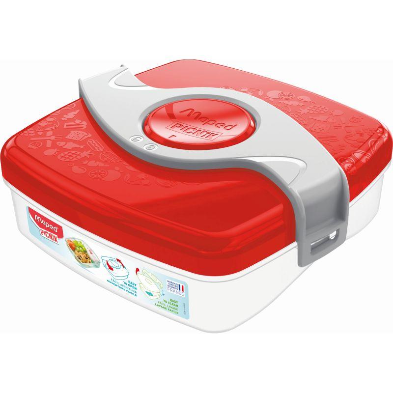 Boîte à Goûter - Maped PICNIK ORIGINS Enfant,, coloris - Rouge