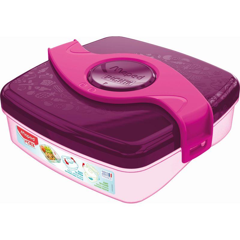 Boîte à Goûter - Maped PICNIK ORIGINS Enfant,, coloris Rose