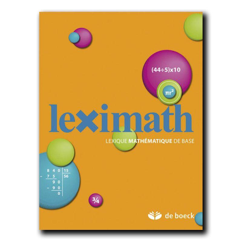 Lexique mathématique de base leximath