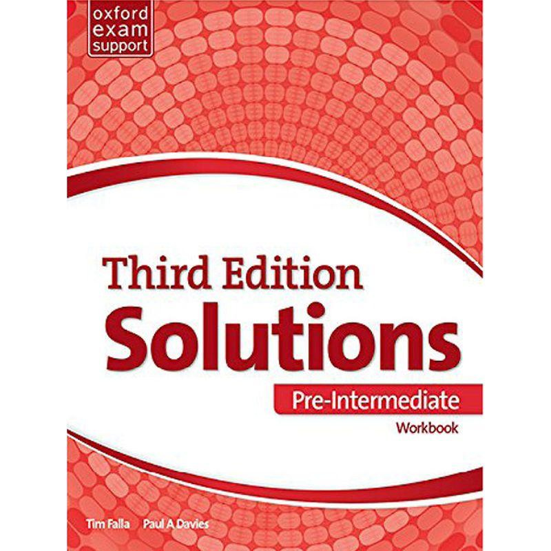 Solutions Third Pre-Intermediate Workbook Book