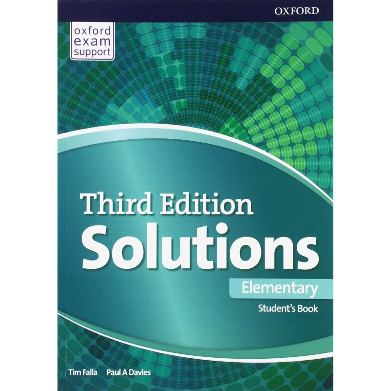 Solutions Third Elementary Student Book