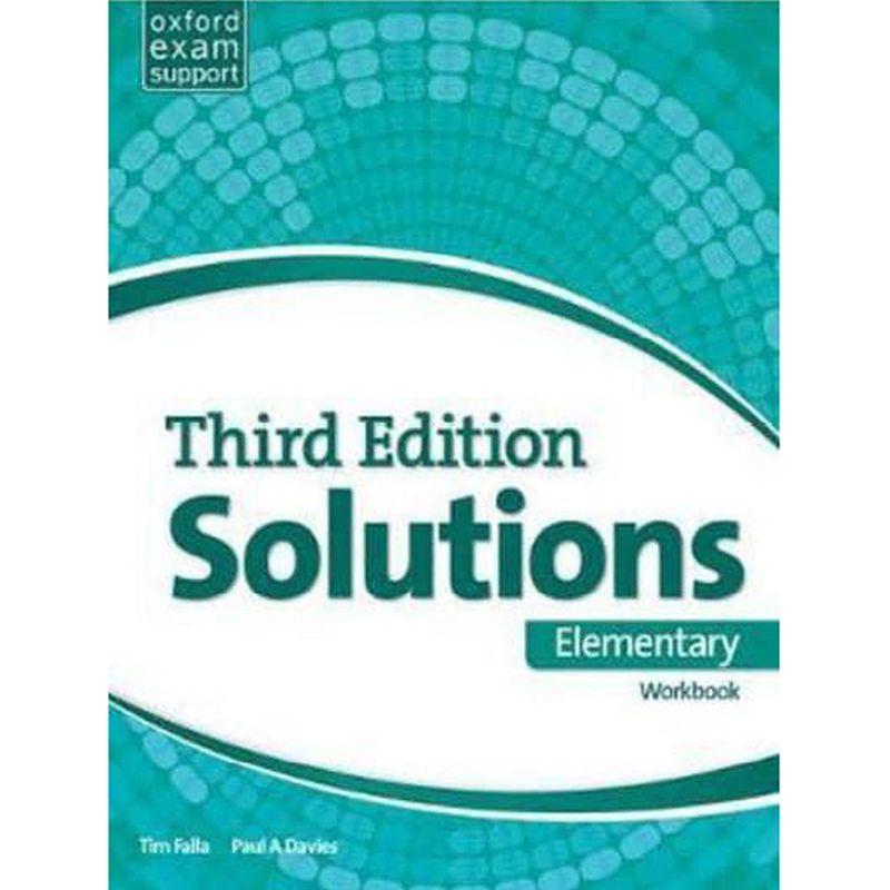 Solutions Third Elementary workbook Book