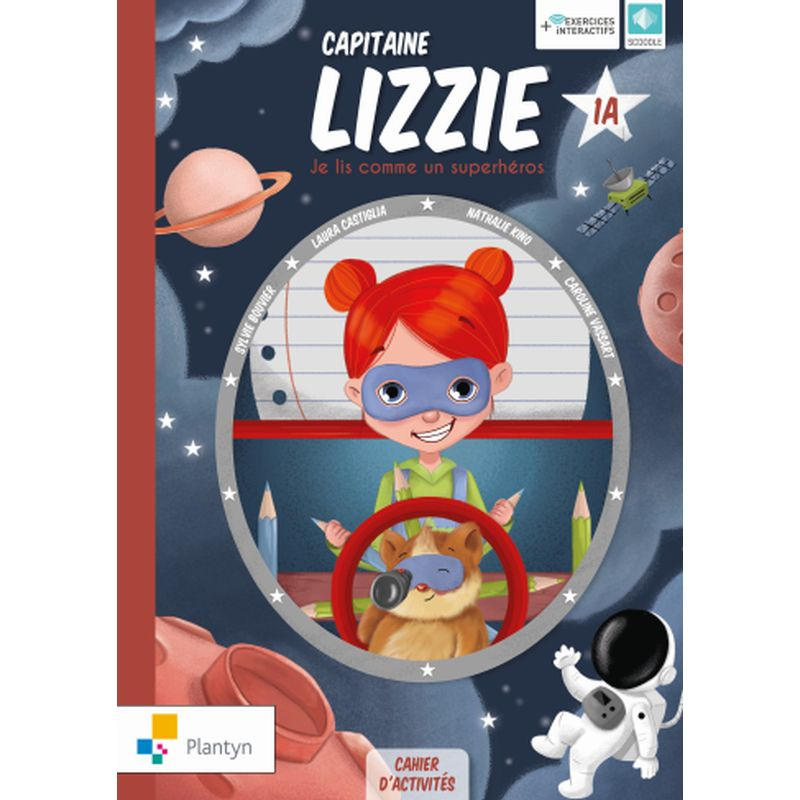 Capitaine Lizzie 1A Cahier