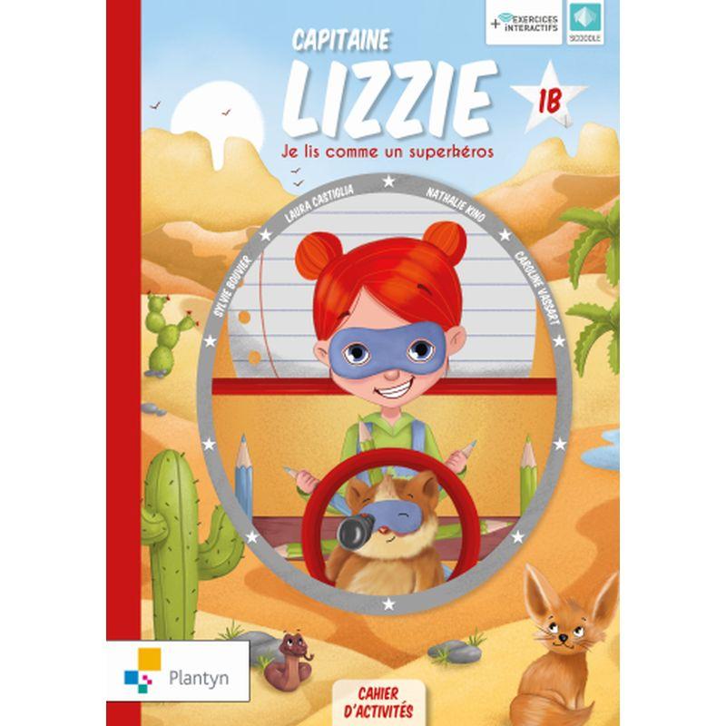 Capitaine Lizzie 1B Cahier