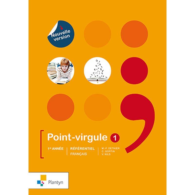 Point-virgule 1 - Référentiel agréé - Nouvelle version