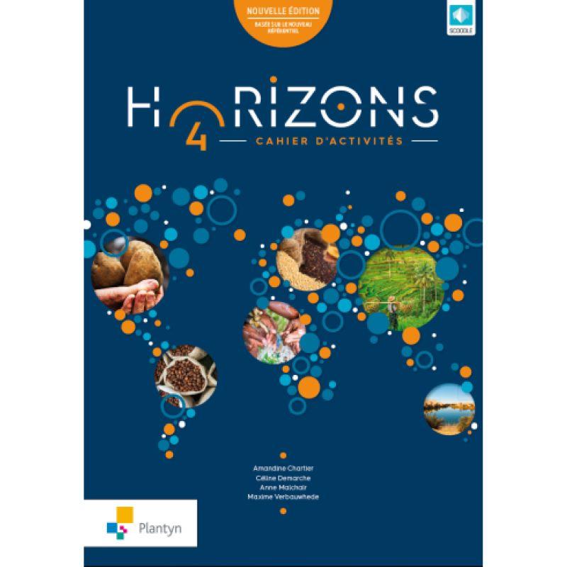 Horizons 4 - Nouvelle édition - Cahier (+ Scoodle)
