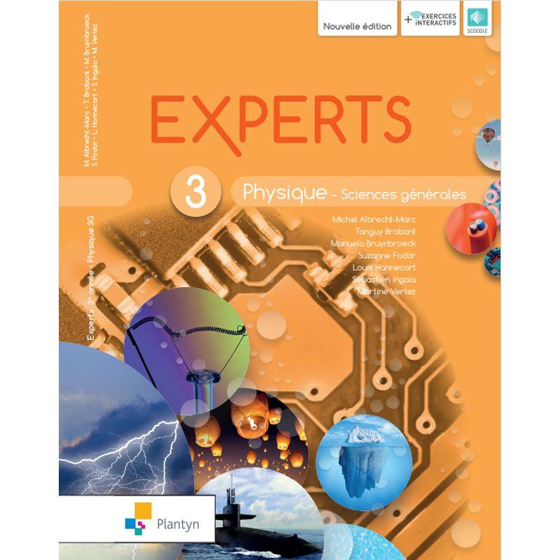 Experts Physique 3 - Sciences générales - Nouvelle version (+ Scoodle)