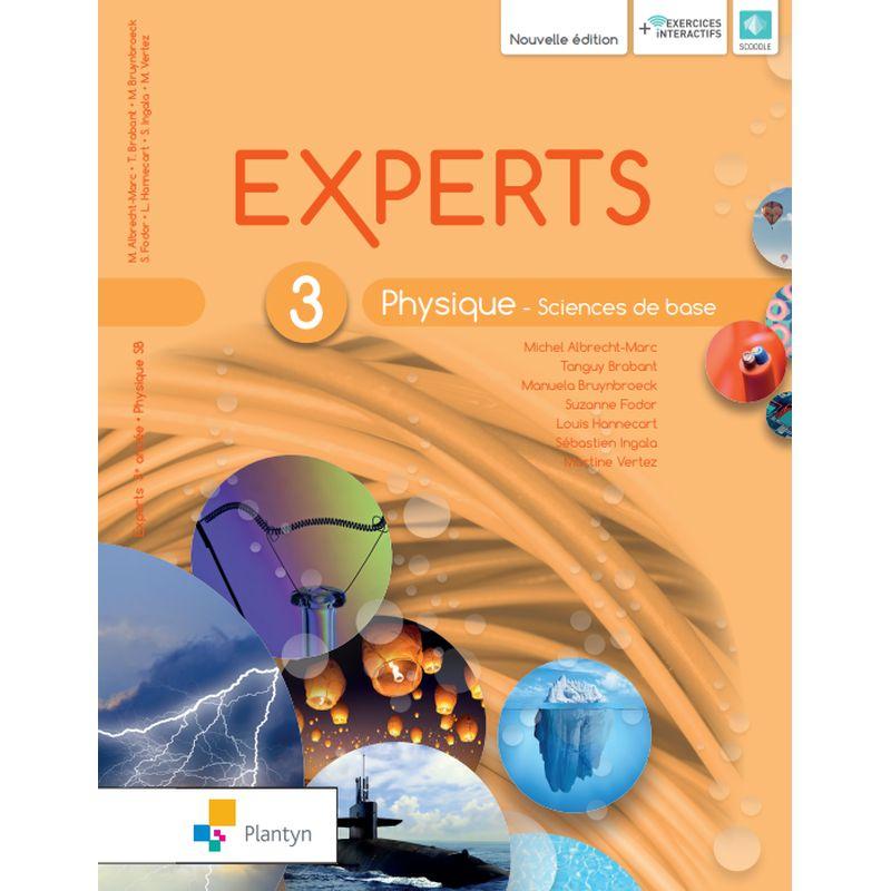 Experts Physique 3 - Sciences de base - Nouvelle version (+ Scoodle)