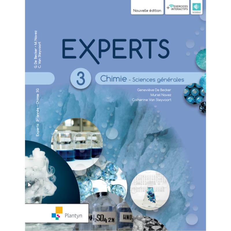 Experts Chimie 3 - Sciences de générale - Nouvelle version (+ Scoodle)