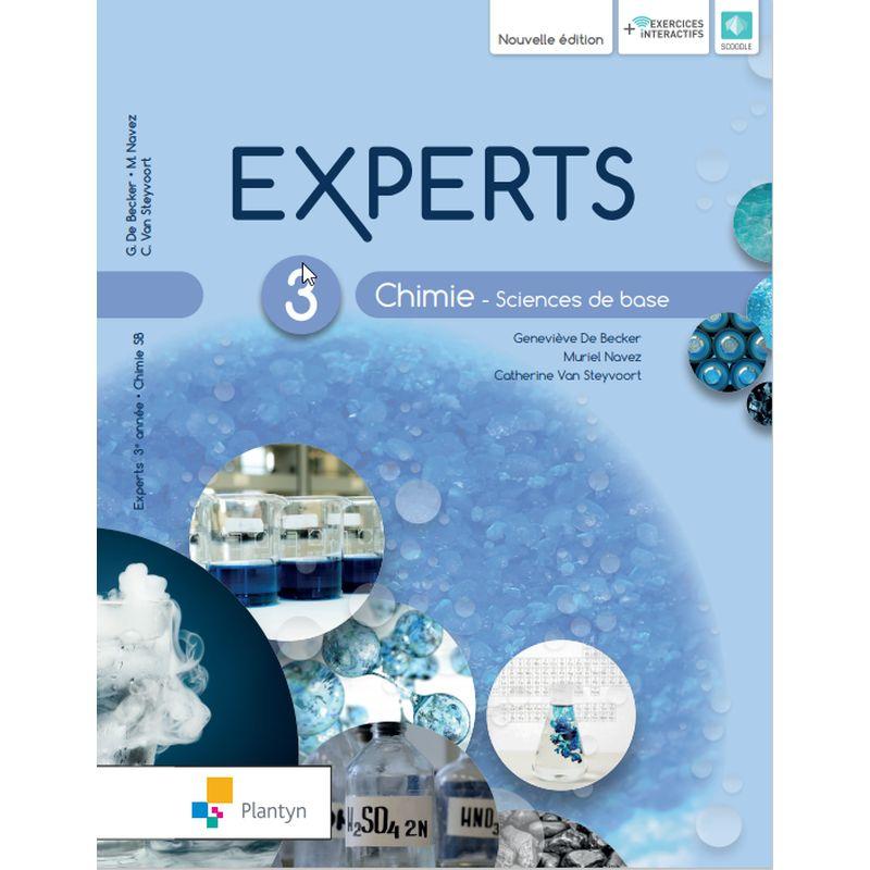 Experts Chimie 3 - Sciences de base - Nouvelle version (+ Scoodle)