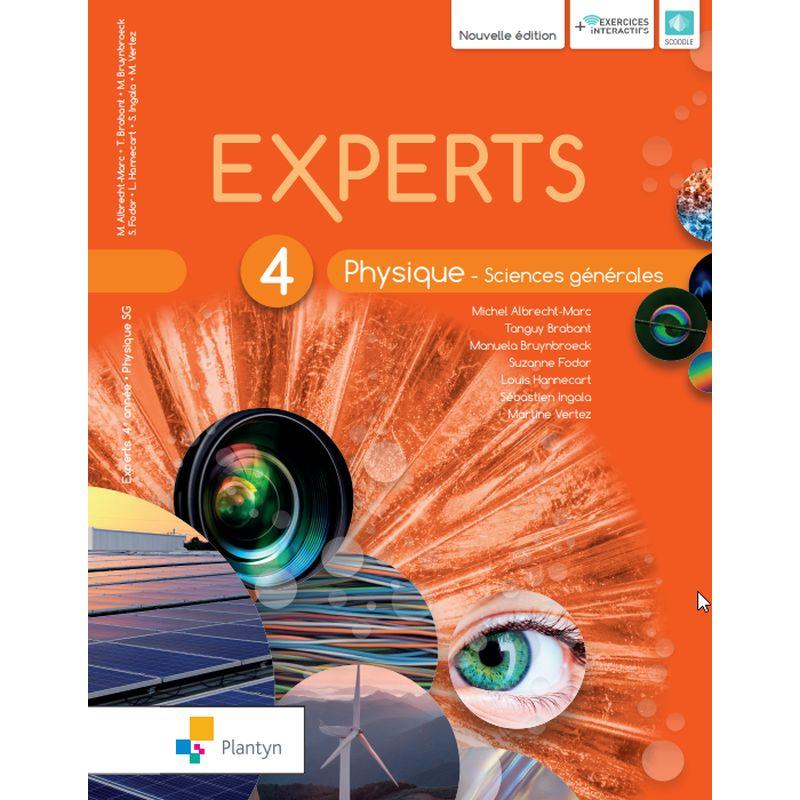 Experts Physique 4 - Sciences générales - Nouvelle version (+ Scoodle)