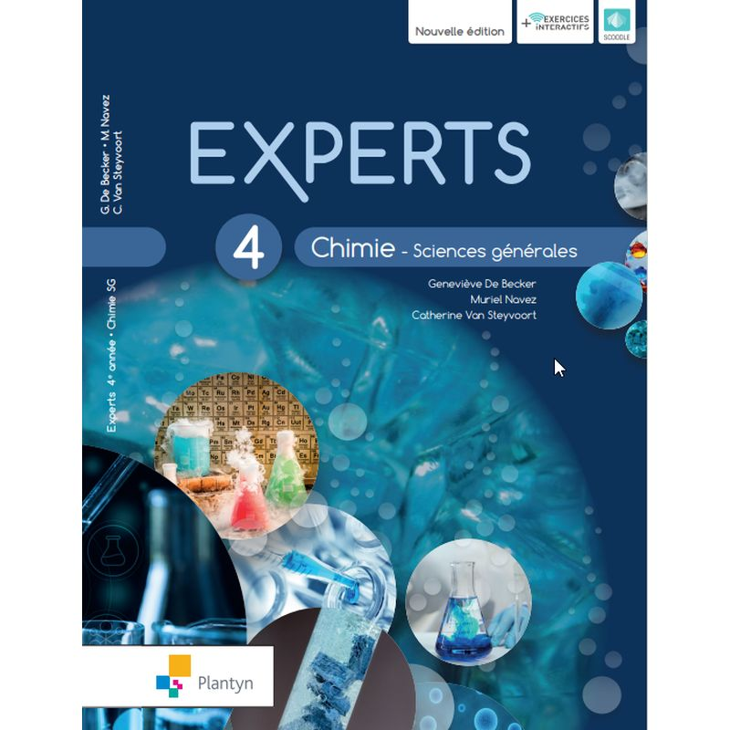 Experts Chimie 4 - Sciences générales - Nouvelle version (+ Scoodle)