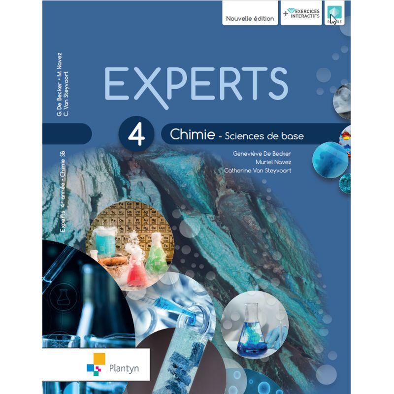 Experts Chimie 4 - Sciences de base - Nouvelle Version (+ Scoodle)
