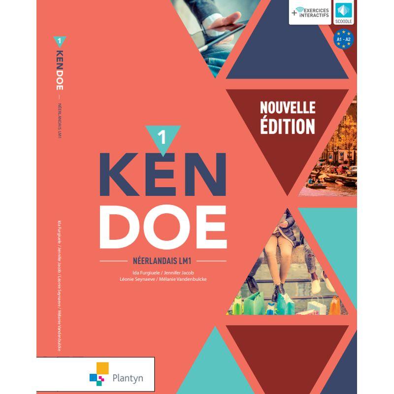 Kendoe 1 - Leerwerkboek - Nouvelle édition (+ Scoodle)