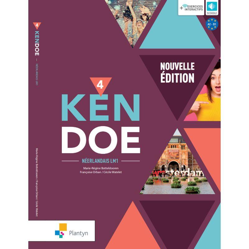 Kendoe 4 - Leerwerkboek - Nouvelle édition (+ Scoodle)