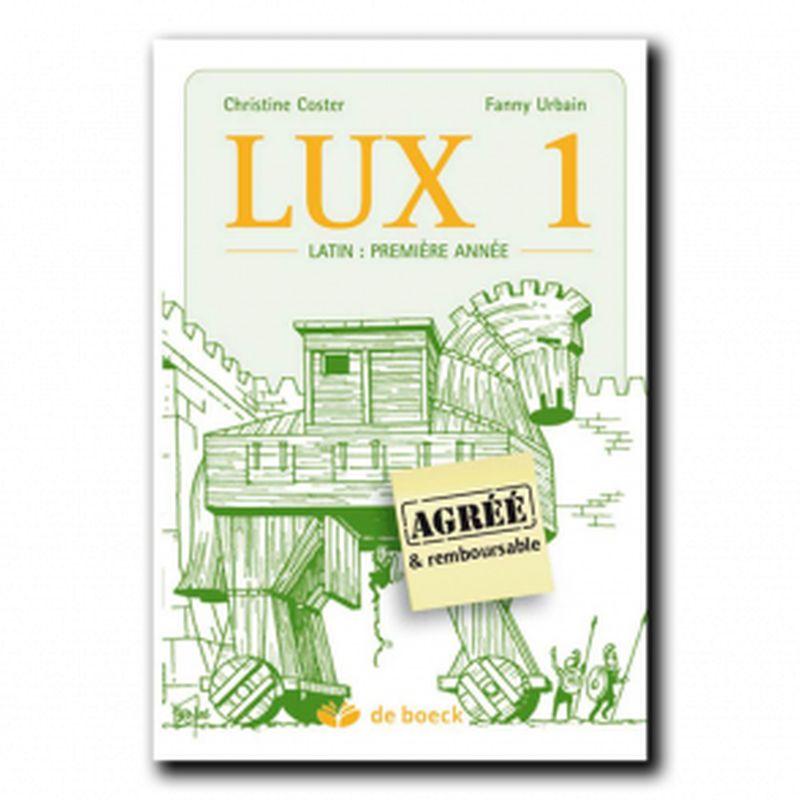 LUX 1 - Le latin pemière année