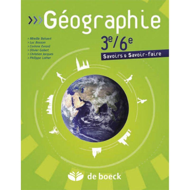 Géographie - 3e/6e