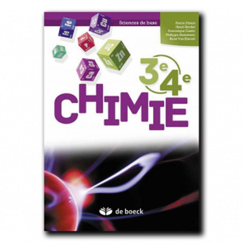 Chimie 3e/4e (sciences de base) - Manuel