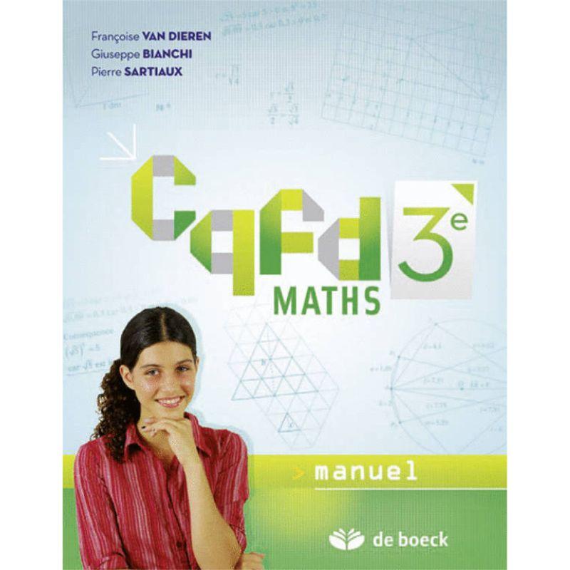 Cqfd Maths 3e - Manuel